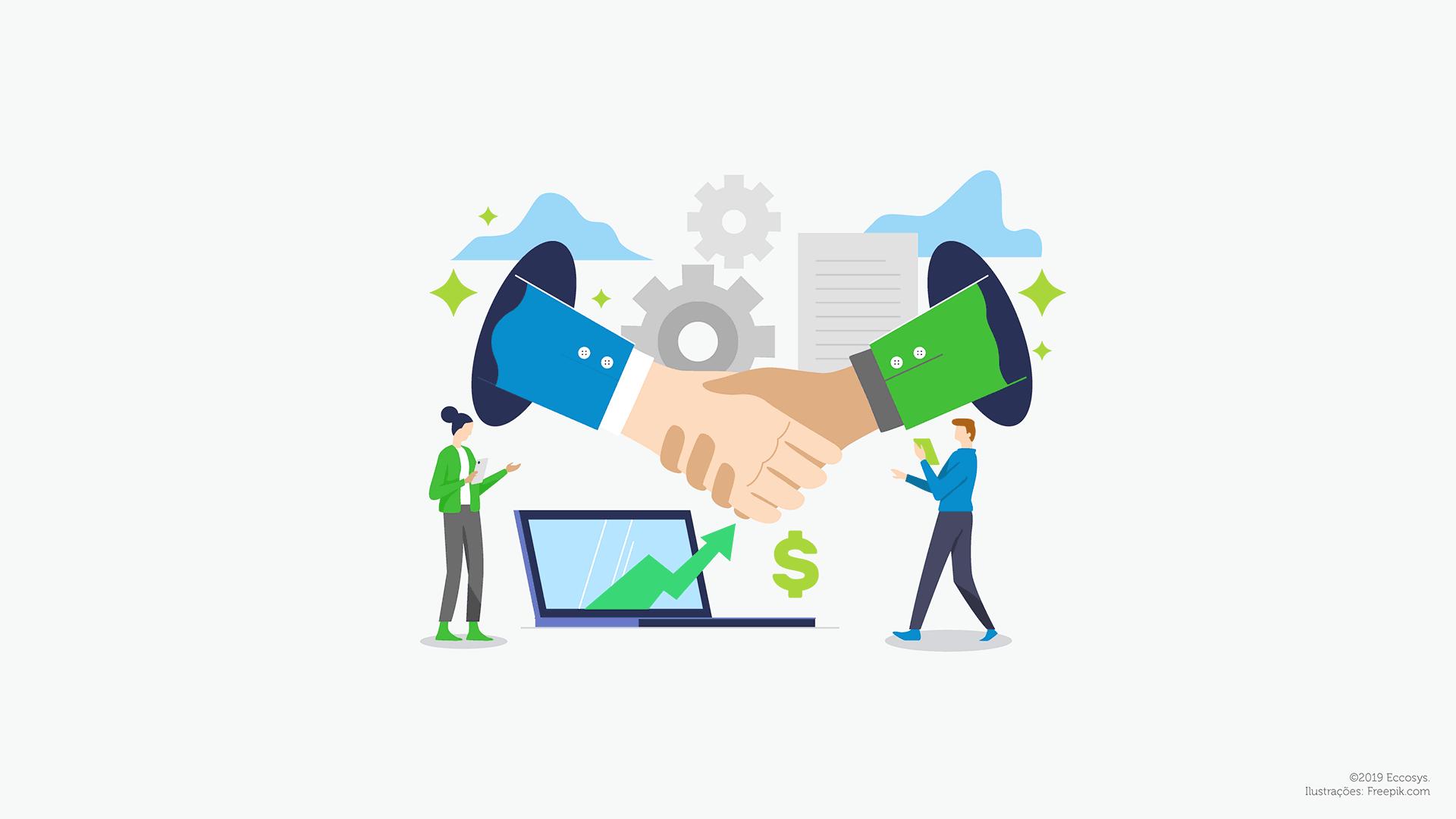 Eccosys & Koncili - Conciliação de pagamentos de marketplaces no e-commerce